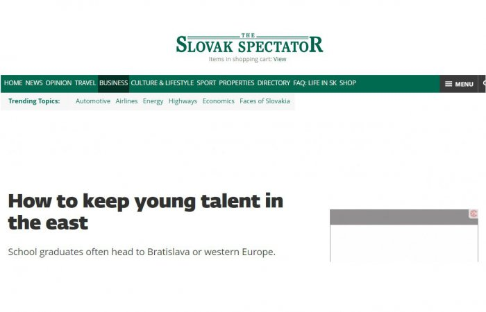 "M. Kollár for The Slovak Spectator: ""We can focus on quality, not quantity."""