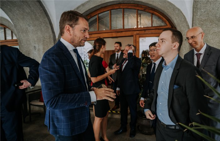 LYNX joined the IT Valley lunch with Prime Minister Igor Matovič