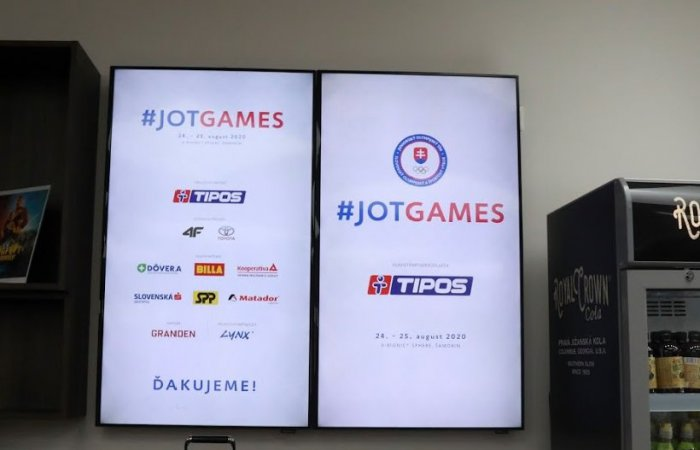Event JOT Games 2020 again with our support